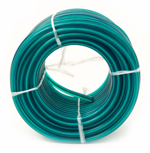 Mibro Kingcord Pvc-Coated Wire Green Coil Perspective: back