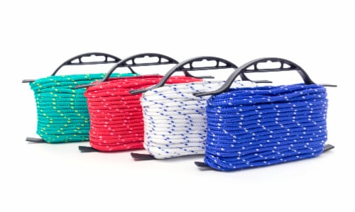 Mibro Kingcord Polypropylene Diamond Braid Assorted Colors Perspective: back