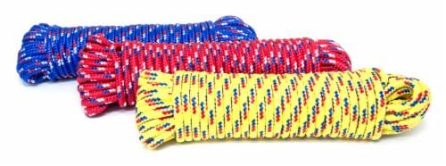 Mibro Kingcord 3 Pack Polypropylene Diamond Braid Assorted Colors Perspective: back