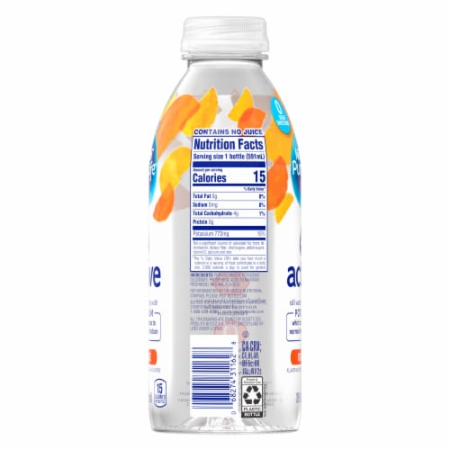 Nestle Pure Life Active Orange Purified Still Water Perspective: back
