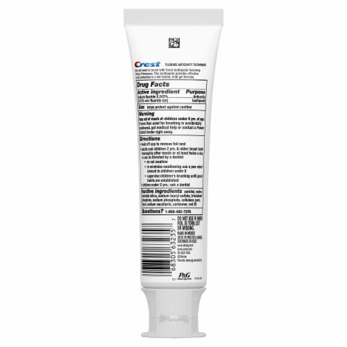 Crest Kids Toothpaste Disney Princess Bubblegum Fluoride Anticavity Perspective: back