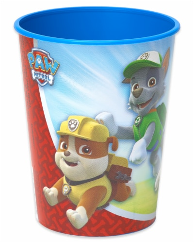 American Greetings Paw Patrol Reusable Plastic Party Cups Perspective: back