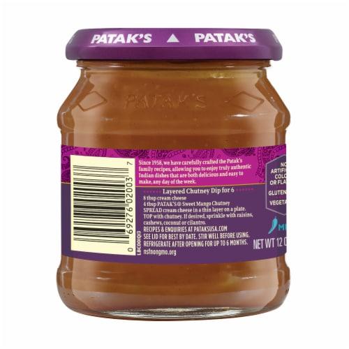 Patak's® Mild Sweet Mango Chutney Perspective: back
