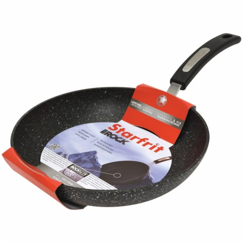 Starfrit The Rock Fry Pan with Bakelite Handle Perspective: back
