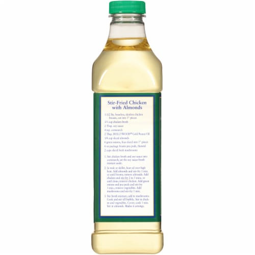 Hollywood® Gold Peanut Oil Perspective: back