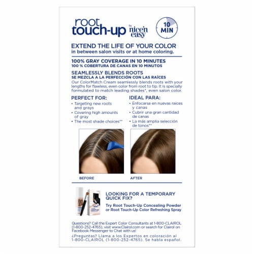 Clairol Nice 'N Easy 5 Medium Brown Permanent Root Touch-Up Perspective: back