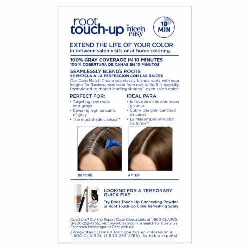 Clairol Permanent 5A Medium Ash Brown Root Touch-Up Perspective: back