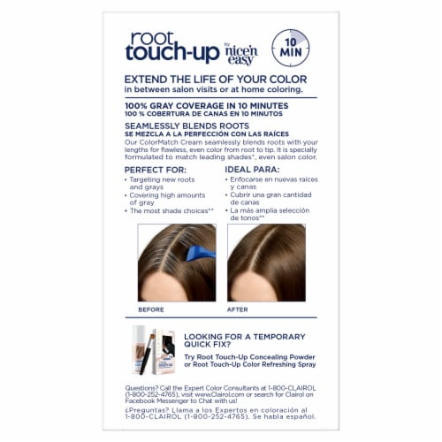 Clairol Permanent 5G Medium Golden Brown Root Touch-Up Perspective: back