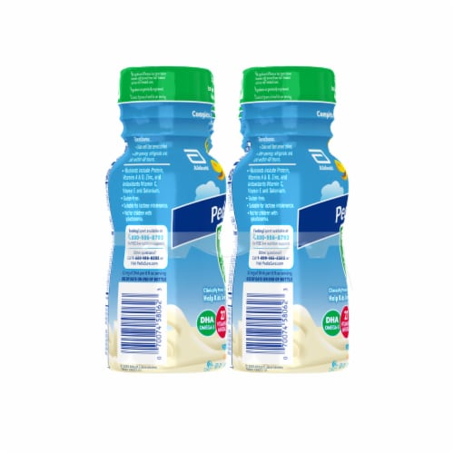 PediaSure Grow & Gain with Fiber Vanilla Ready-to-Drink Kids' Nutritional Shake Perspective: back