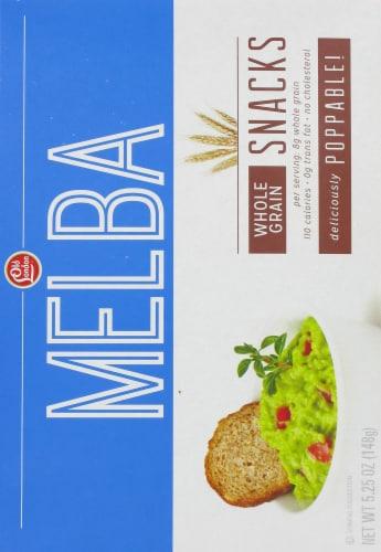 Old London Melba Whole Grain Snacks Perspective: back