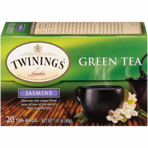 Twinings Of London Jasmine Green Tea Bags Perspective: back