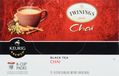Twinings Chai K-Cup Pods Perspective: back