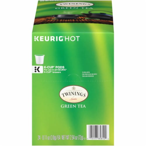 Twinings Of London Green Tea K-Cup Pods Perspective: back