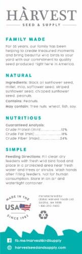 Harvest Seed & Supply Songbird Wild Bird Food Perspective: back