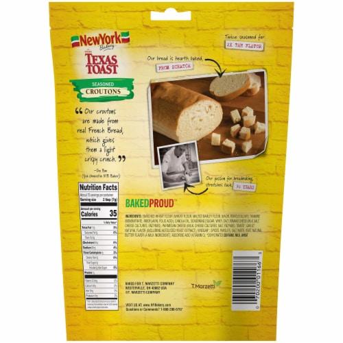 New York Bakery Texas Toast Seasoned Croutons Perspective: back
