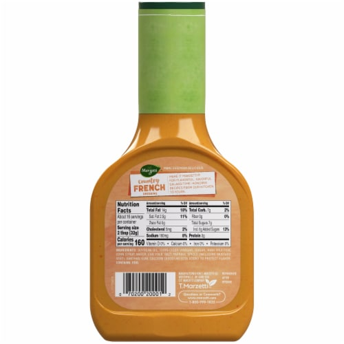 Marzetti Country French Dressing Perspective: back