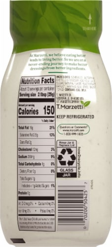 Marzetti Classic Ranch Dressing Perspective: back