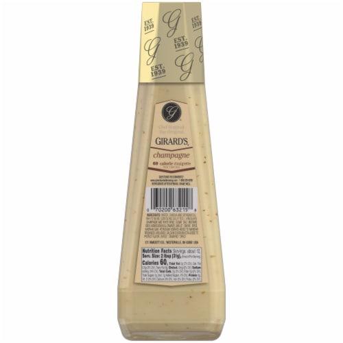 Girard's Champagne 60 Calorie Vinaigrette Dressing Perspective: back