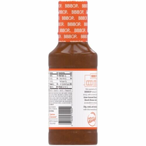 Bibibop Asian Grill Honey Gochujang Sauce Perspective: back