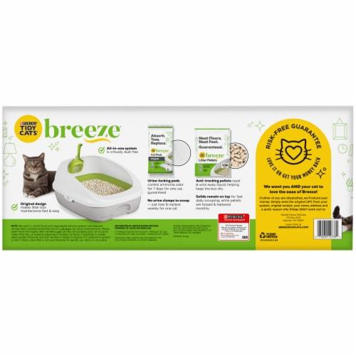 Tidy Cats® Breeze Cat Litter Kit Perspective: back