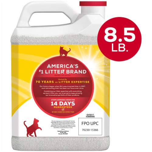 Purina Tidy Cats LightWeight 24/7 Performance Dust Free Clumping Multi-Cat Litter Perspective: back