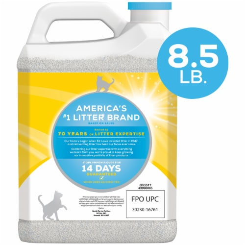 Tidy Cats LightWeight Glade Clear Springs Clumping Multi-Cat Litter Perspective: back