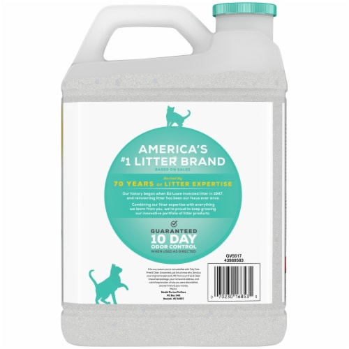 Tidy Cats Free & Clean Unscented Clumping Multi-Cat Litter Perspective: back