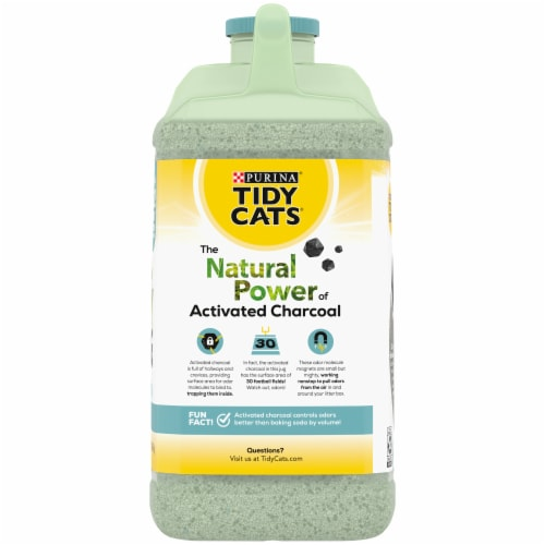 Tidy Cats Naturally Strong Unscented Clumping Cat Litter Perspective: back