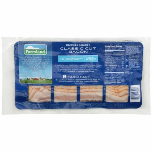 Farmland Hickory Smoked Bacon Perspective: back