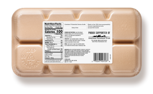 Pure Farmland Plant-Based Maple Breakfast Patties Perspective: back