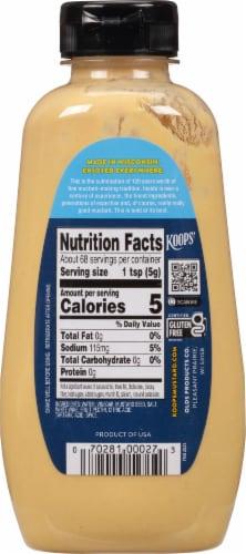 Koop's Squeeze Dijon Mustard Perspective: back