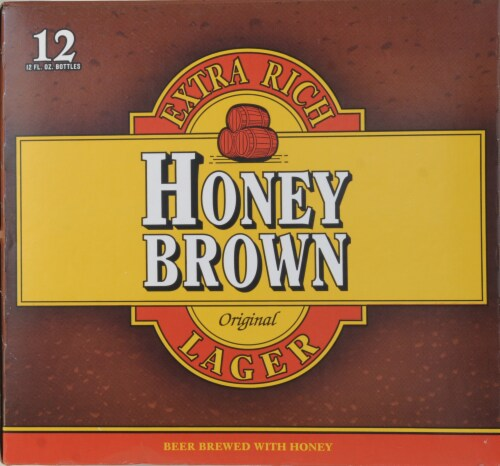 Dundee's Honey Brown Lager Perspective: back
