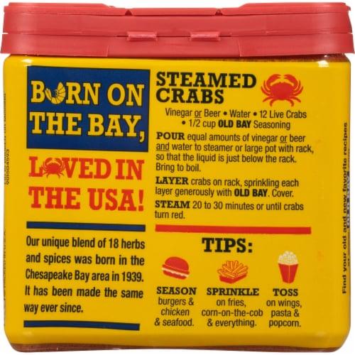 Old Bay® Seasoning Perspective: back