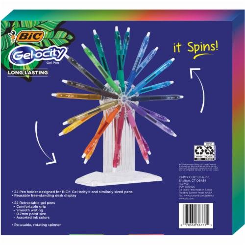 BIC Gelocity Assorted Gel Pens Wheel Perspective: back