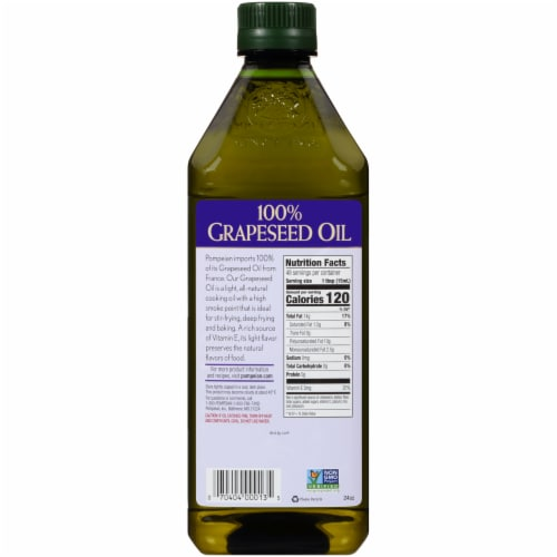 Pompeian® Grapeseed Oil Perspective: back