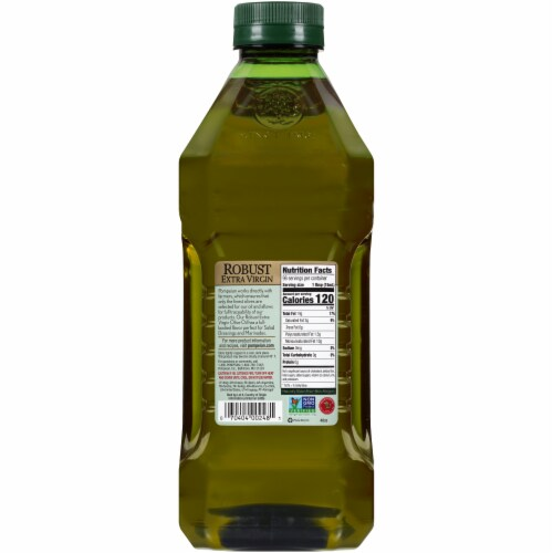 Pompeian® Robust Extra Virgin Olive Oil Perspective: back
