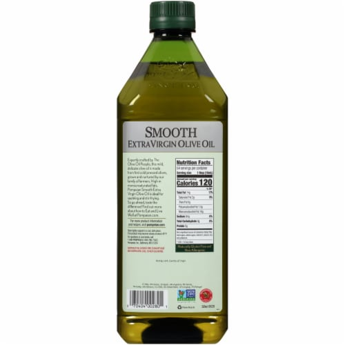 Pompeian® Smooth Extra Virgin Olive Oil Perspective: back