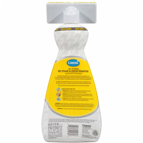 Carbona Oxy Powered Pet Stain & Odor Remover Perspective: back