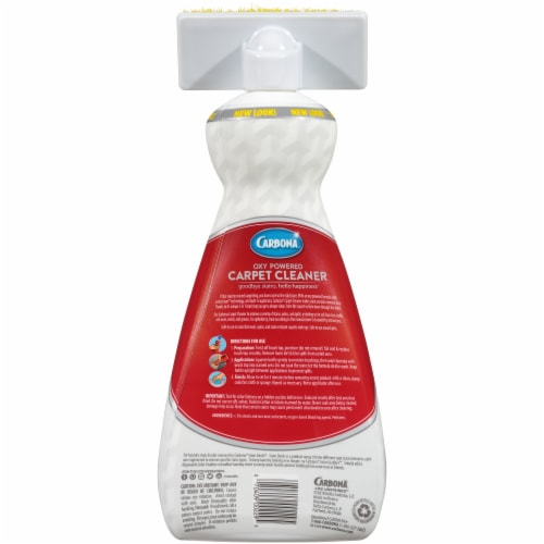Carbona Oxy Powered Carpet Cleaner Value Size Perspective: back