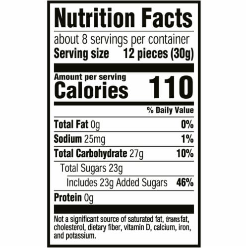 Sour Patch Kids Tropical Soft & Chewy Candy Perspective: back