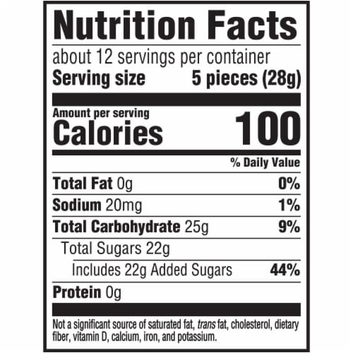 Sour Patch Kids Big Kids Candy Perspective: back