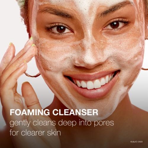 Neutrogena® Oil Free Acne Wash Perspective: back
