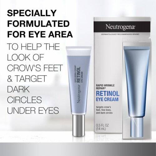 Neutrogena Rapid Wrinkle Repair Eye Cream Perspective: back