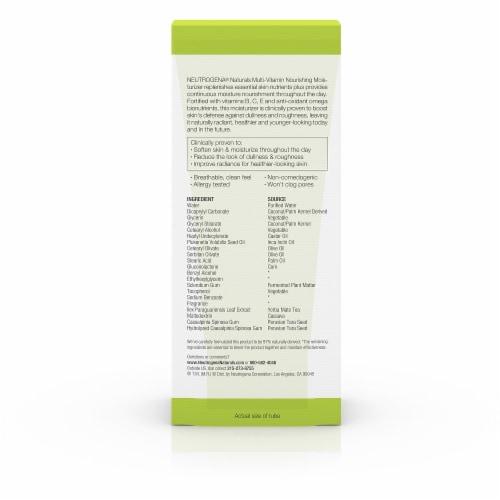 Neutrogena Naturals Multi-Vitamin Nourishing Daily Moisturizer Perspective: back