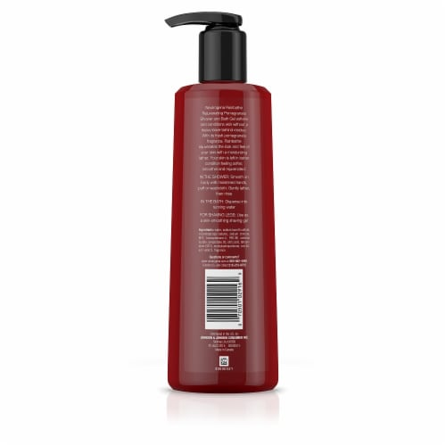 Neutrogena Rainbath® Rejuvenating Pomegranate Shower and Bath Gel Perspective: back