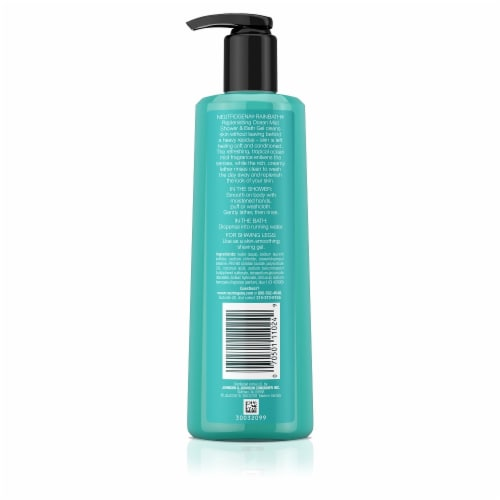 Neutrogena Rainbath Ocean Mist Shower & Bath Gel Perspective: back