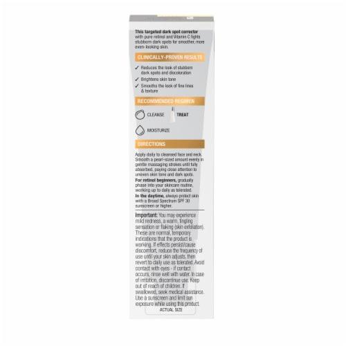 Neutrogena Rapid Tone Repair Retinol + Vitamin C Dark Spot Corrector Perspective: back