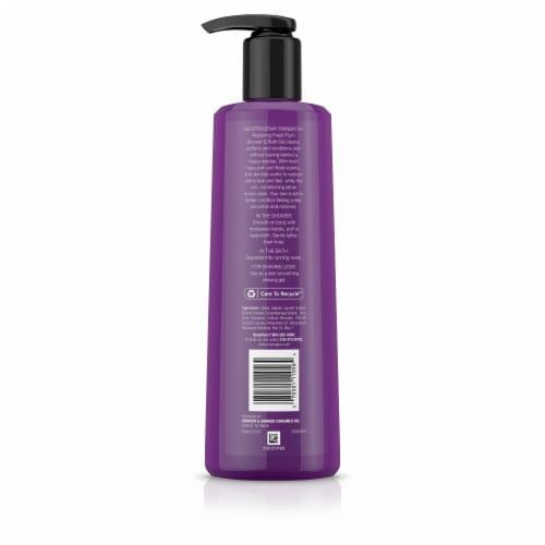 Neutrogena Rainbath Fresh Plum Restoring Shower and Bath Gel Perspective: back