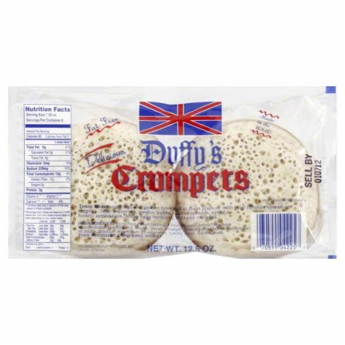 Duffy's Crumpets Perspective: back