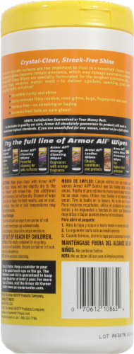 Armor All® Glass Wipes Perspective: back